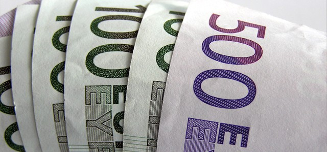 Picture of Euro Bank Notes