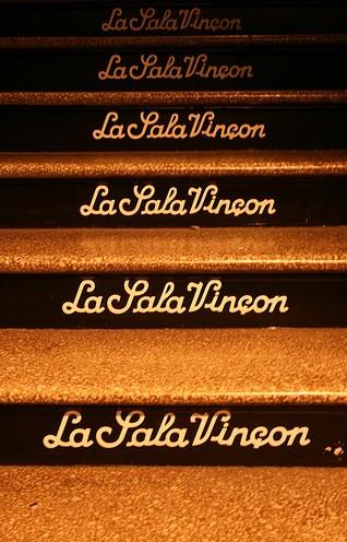 The stairs to La Sala Vinçon